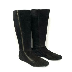 Born Womens Black Size 8 Plover Suede Boot